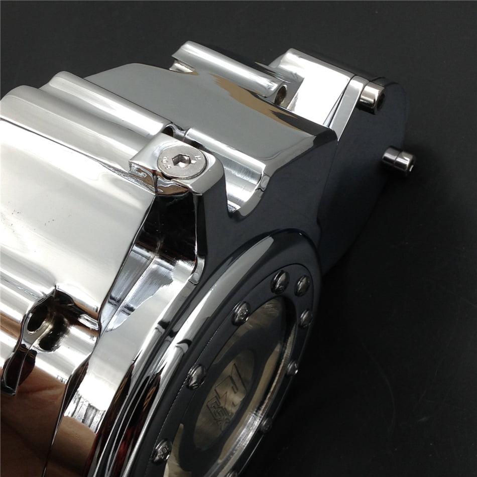 Chrome Left Engine Stator Cover See Through For Suzuki GSXR 600//750 2006-2013 HTT