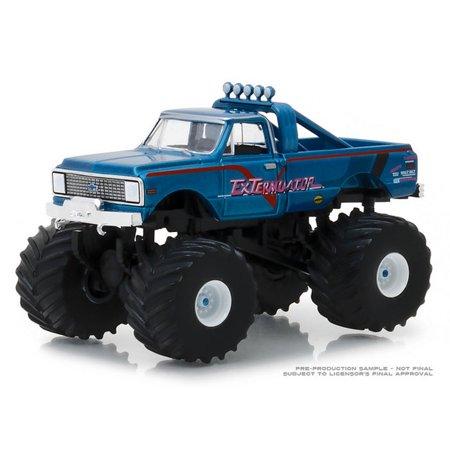 1/64 1972 Chevy K-10 Monster Truck, ExTerminator, Kings of Crunch Series 2 49020-D (1972 Chevy Truck)