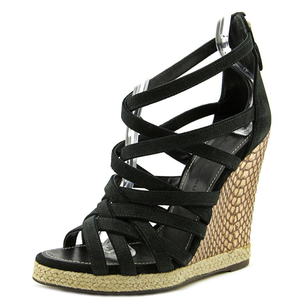 Barbara Bui C5229CR   Open Toe Suede  Wedge Sandal