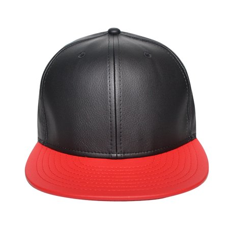 Origins - The Cap Guys TCG / Inspired Exclusives Black and Red PU Leather Snapback - image 5 of 5