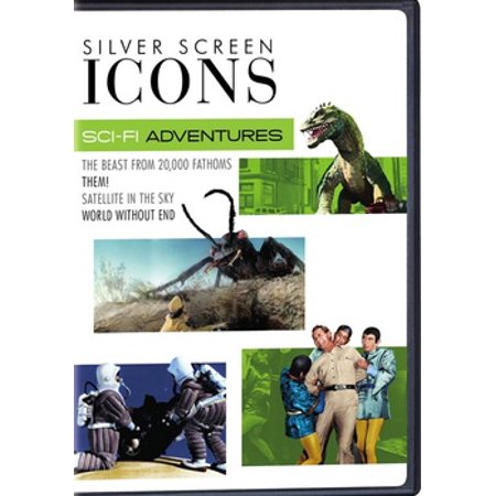 Silver Screen Icons: Sci-Fi Adventures (DVD) - Jack And Rod Show Halloween
