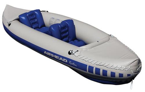 Kwik Tek AHTK-5 Airhead Roatan Inflatable Kayak, 2 Person by Kwik Tek
