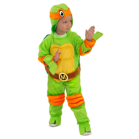 80s Jumpsuit Costume (TMNT Michelangelo Jumpsuit Costume For)