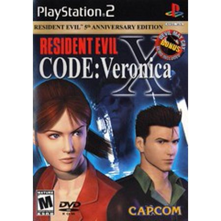 Resident Evil Code Veronica X - PS2 Playstation 2