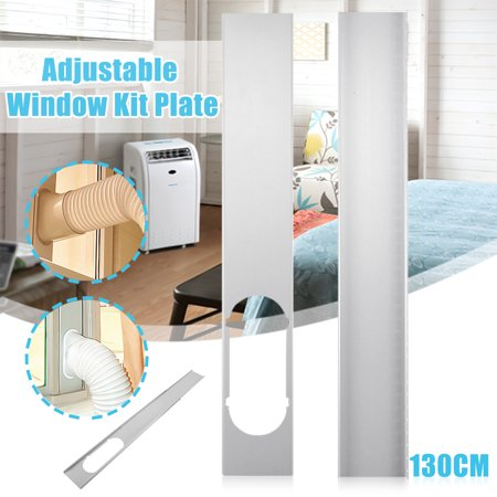 2Pcs Portable Air Conditioner Spare Parts - Adjustable Window Slide Plate Kit