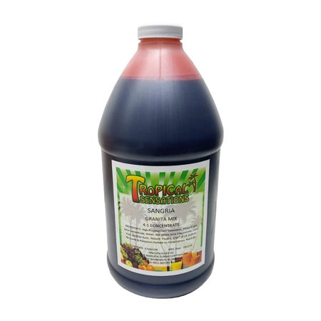 Red Sangria Frozen Drink Mix, Tropical Sensations, 64 oz
