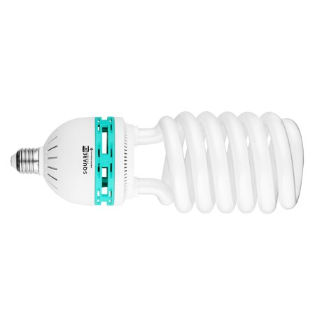Square Perfect Professional Quality 100 Watt Compact Fluorescent Full Spectrum Photo Bulb Photography