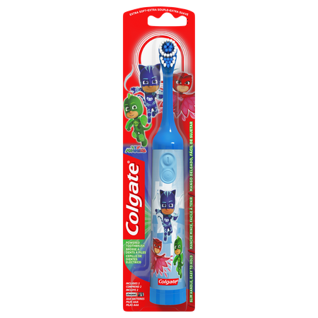 Colgate Kids Battery Powered Toothbrush, PJ Masks