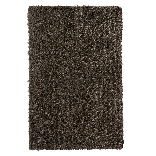 American Cover Designs Flash Shag Black Area Rug