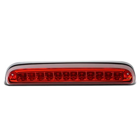 3rd Brake Light Decal - For 1993 to 2016 Ford Super Duty / Ranger / Mazda B -Series LED 3rd Third Tail Brake Light Rear Stop Lamp Red Housing 94 95 96 97 98 99 00 11 12 13 14 15