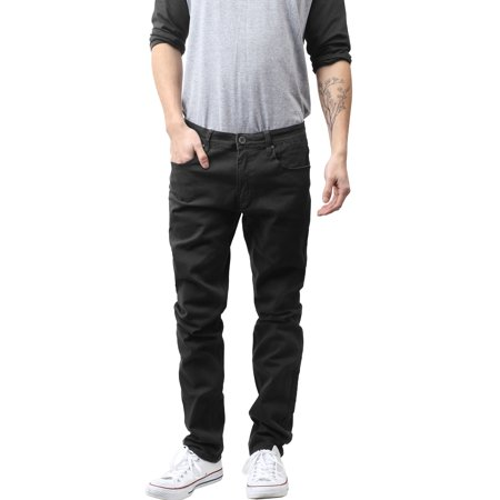 Mens Skinny Jeans Stretch Skinny Fit Slim Denim