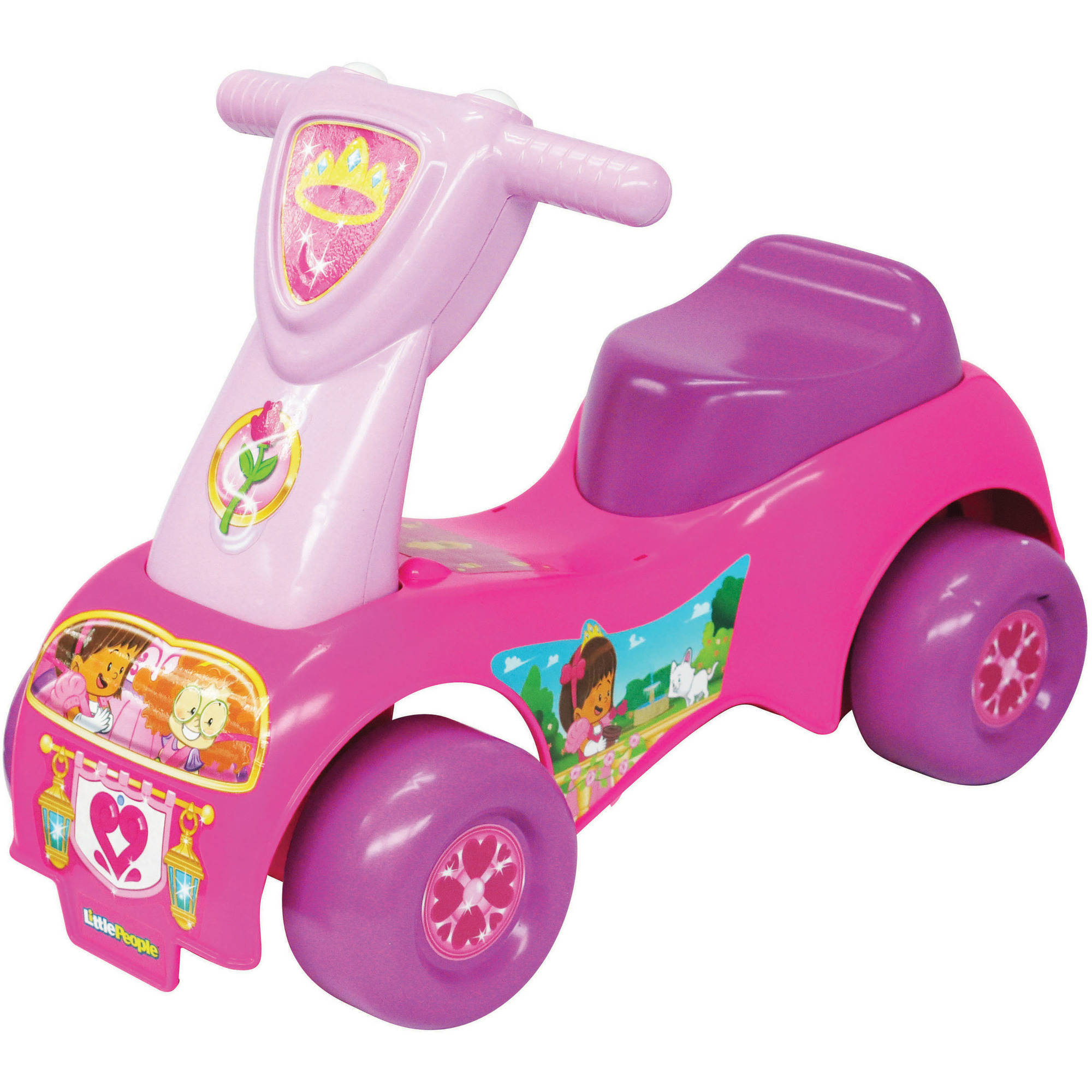 Fisher Price Princess Push n' Scoot Ride-On