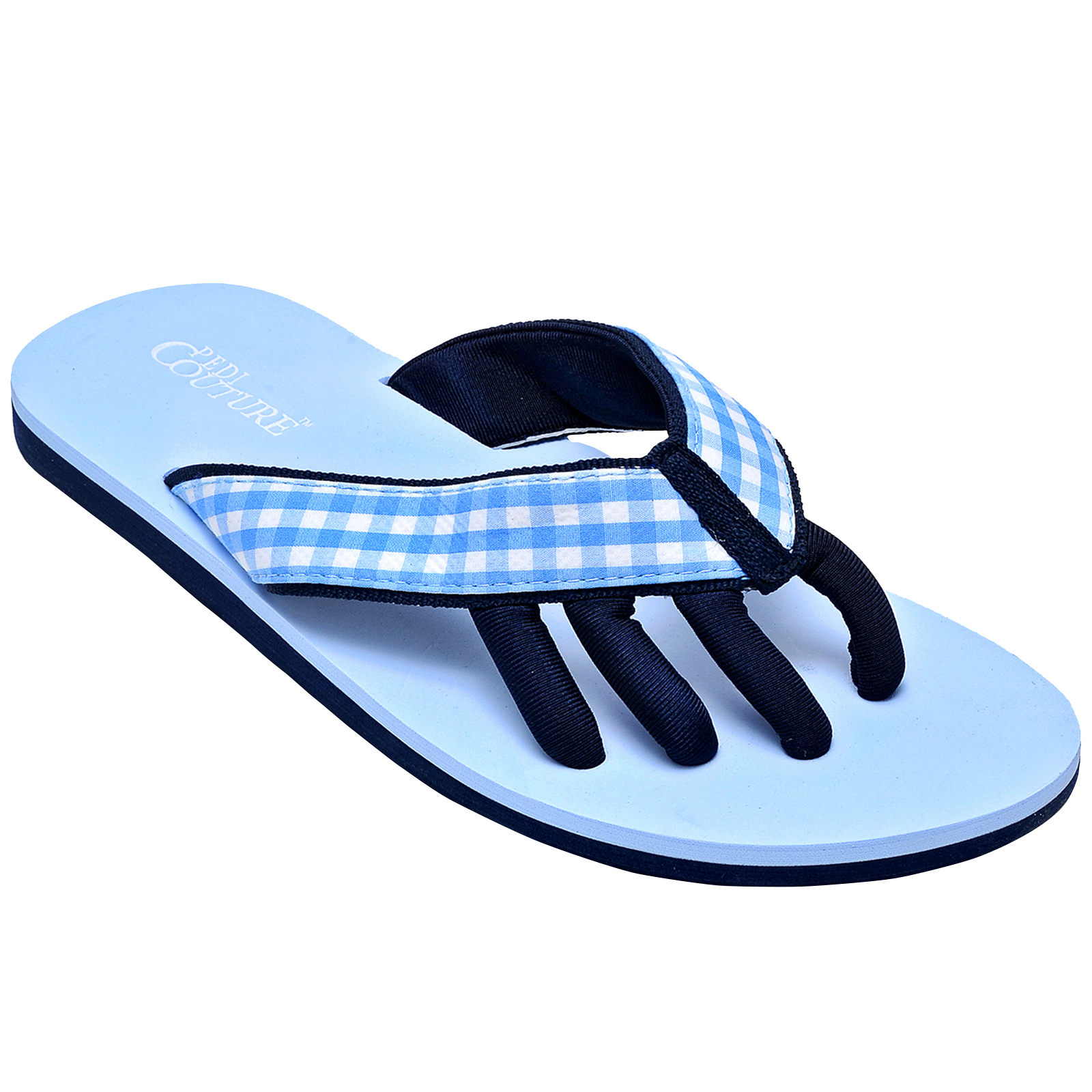 db12759a3 Pedi Couture - PEDI COUTURE NEW Women s Gingham Pedicure Spa Toe ...
