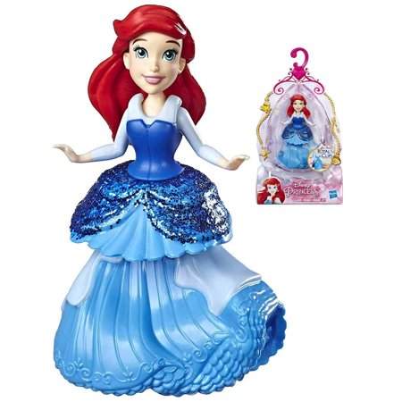 Ariel The Little Mermaid Royal Clip Disney Princess Action Figure 3""