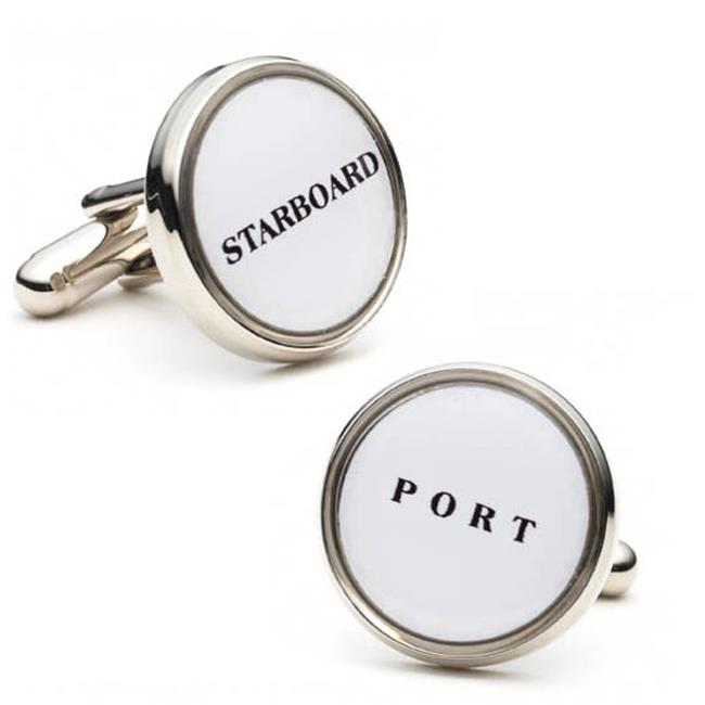 Cufflinks PD-NAU-SL Starboard and Port Cufflinks