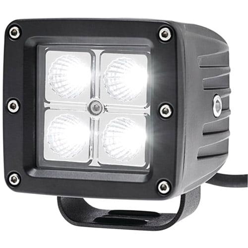 """Race Sport RS-4L-3X316W 3"""" x 3.25"""" 16W 4-LED Driving Spotlight"""