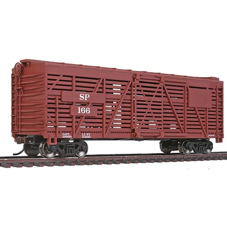 Walthers Trainline HO Scale 40' Stock/Cattle Car Southern Pacific/SP Boxcar (Ho Southern Pacific Boxcar)