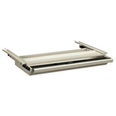 Hon Center Drawer W/Core Removable Locks, 24-3/4 x 14-3/4 x 3, Lt Gray