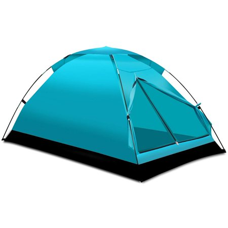 Tents for Camping 1-2 Person Outdoor Backpacking Lightweight Dome by - Lightweight Backpacking Equipment