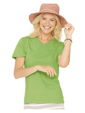 2ac88d8c2d21 Product Image LAT Women's V-Neck Premium Jersey Tee