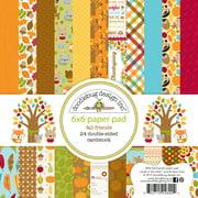 Fall Friends 6 x 6 Paper Pad - Doodlebug