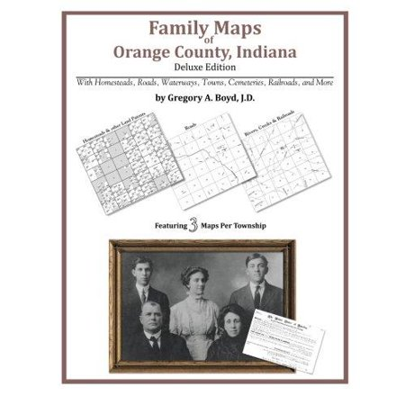 Family Maps Of Orange County  Indiana