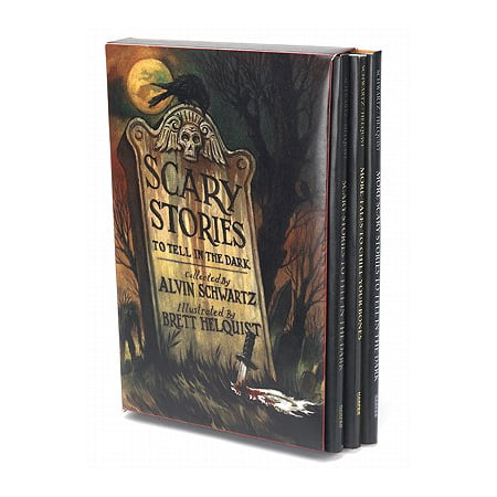 Scary Stories Box Set : Complete Collection with Brett Helquist (A Scary Story To Tell In The Dark)