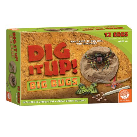 Dig It Up! Big Bugs, Toys that teach: experience the thrill of discovery just like a real paleontologist with this great kit from mindware as.., By MindWare (Mindware Toys)