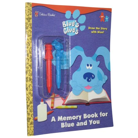 Blues Clues A Memory For Blue and You Coloring Book w/