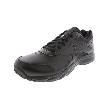 Reebok Men's Work N Cushion 3.0 Black / Ankle-High Leather Industrial and Construction Shoe -