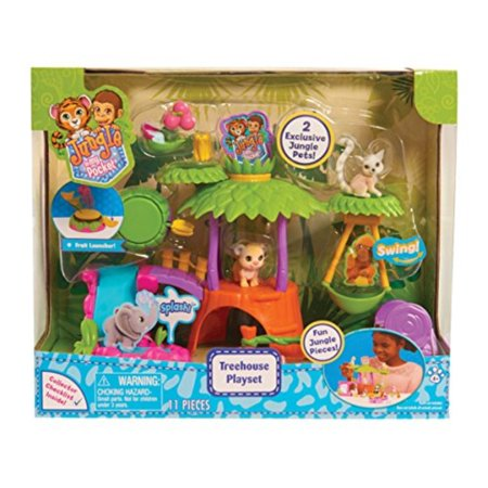 Jungle Book Figures (Jungle In My Pocket Treehouse Playset )