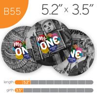 MyONE Condoms Size B55, 6-Count