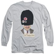 Mr Bean Bff Mens Long Sleeve Shirt