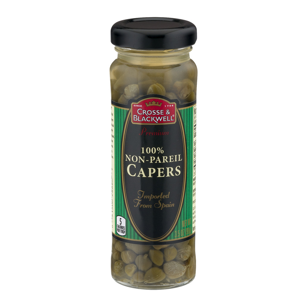 Crosse & Blackwell 100% Non-Pareil Capers, 3.5 OZ by The J.M. Smucker Company