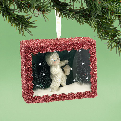 Department 56 Snowbabies 4031918 Star-Lit Stroll Box Ornament 2013