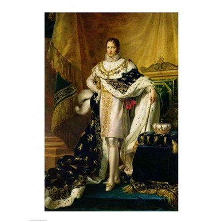 Posterazzi BALXIR197209LARGE Joseph Bonaparte Poster Print by Francois Gerard - 24 x 36 in. - Large - image 1 of 1