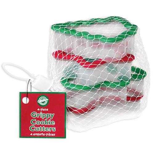 Wilton Holiday Grippy Cookie Cutters, Set of 4 - Walmart.com