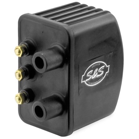 S&S Cycle 55-1571 Intelligent Spark Technology Ignition System Ignition Coil - High Output Single (Single Fire Electronic Ignition System)