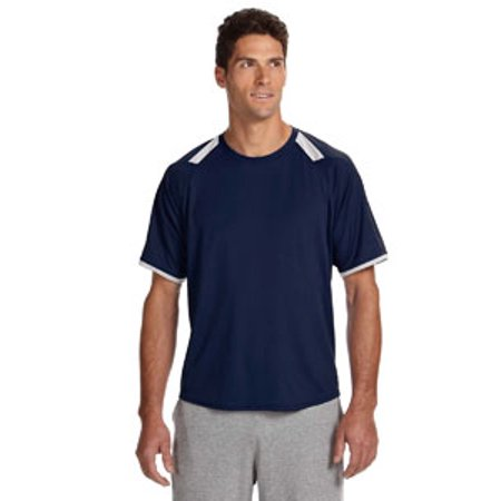 Russell Athletic Dri-Power® T-Shirt with Colorblock Inserts (Russell Athletic T-shirt)