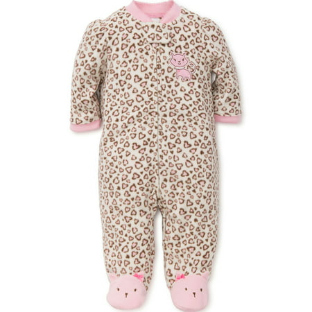 Kitty Cat Blanket Sleeper Warm Fleece Footie Footed Pajamas Pink 3 Mth Baby Fleece Footed Pajamas For Girls - Adult Cat Onesie