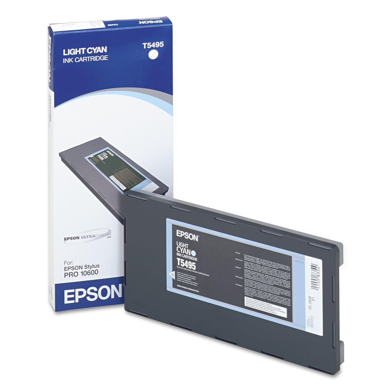 Epson T549500 UltraChrome K3 Ink, Light Cyan by Epson