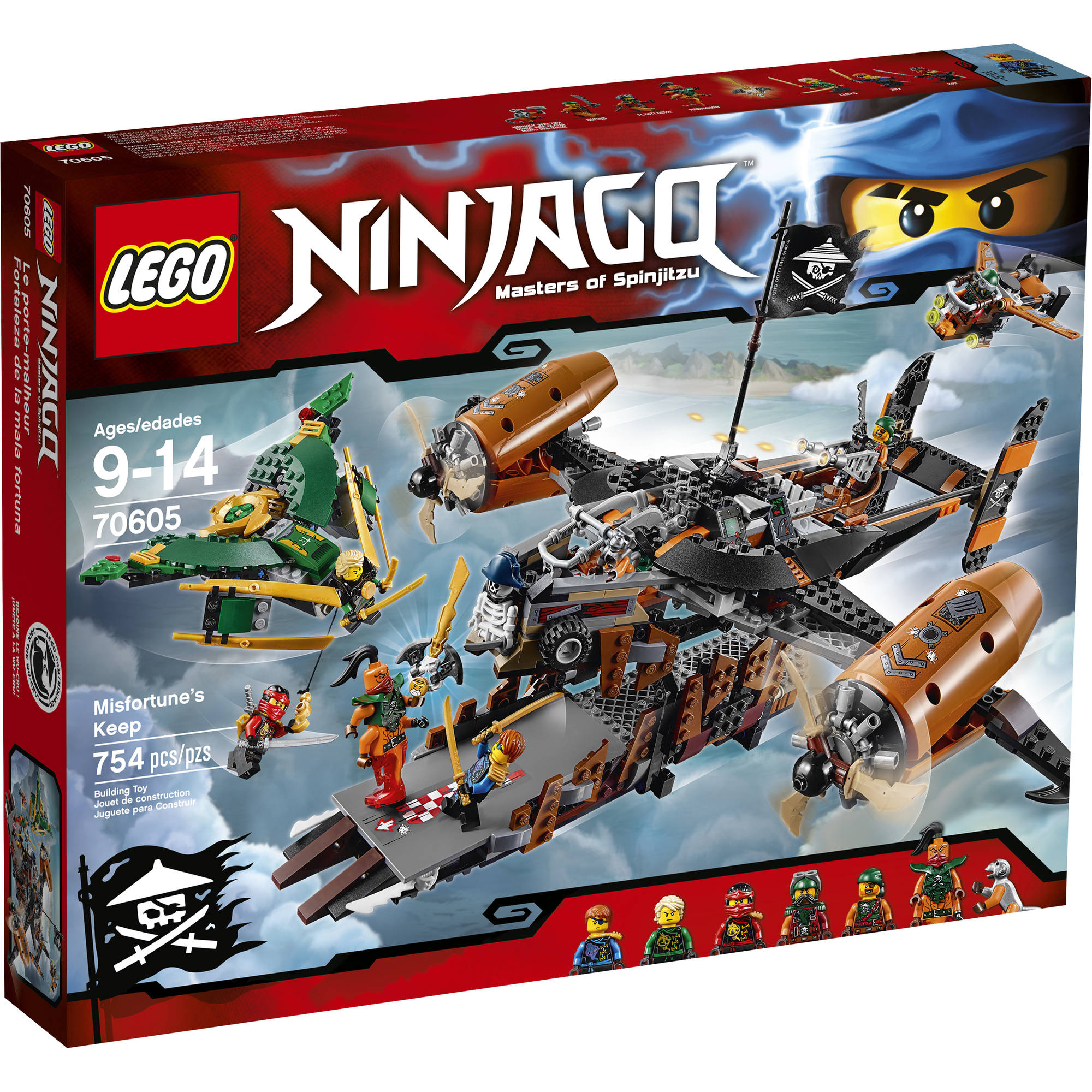 LEGO Ninjago Misfortune's Keep, 70605