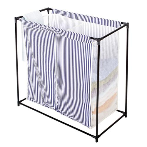 StorageManiac Double Laundry Hamper Sorter