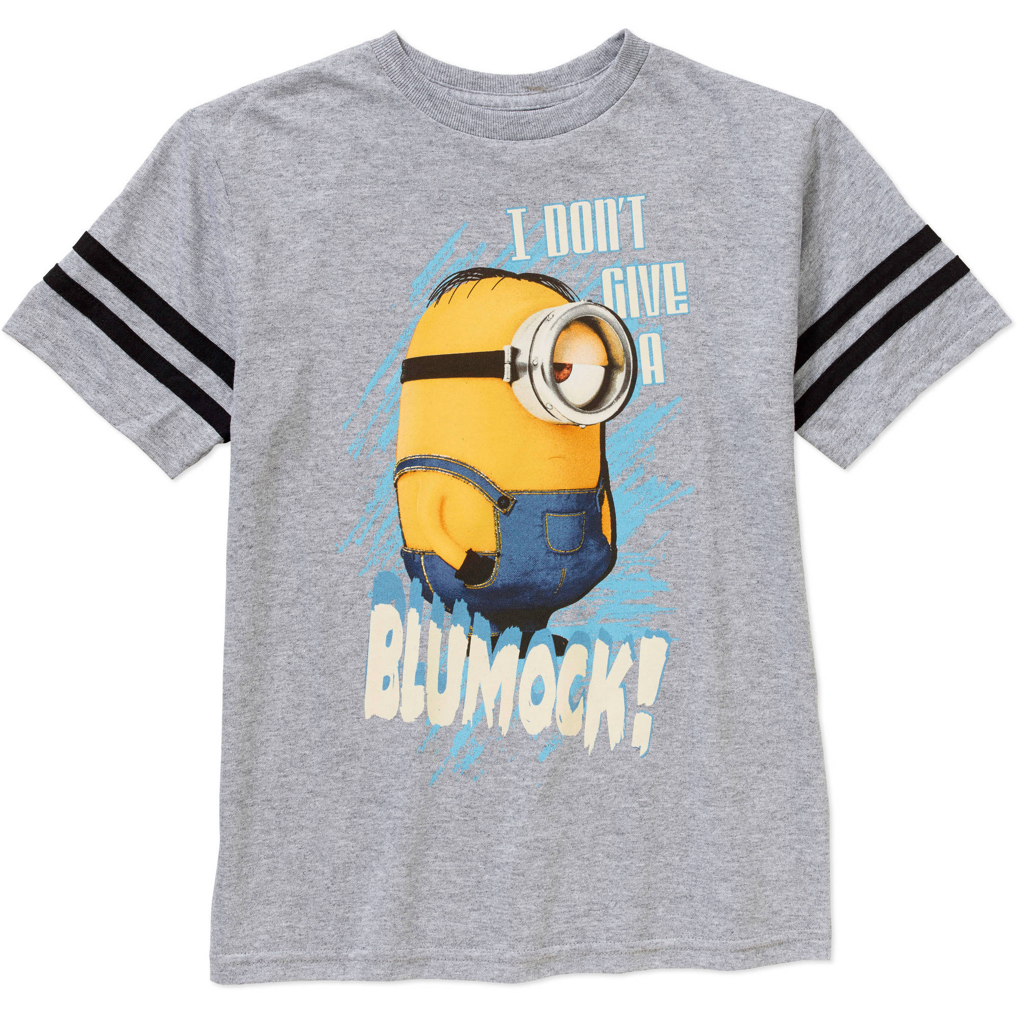 Minions Don't Give A Boys Graphic Tee