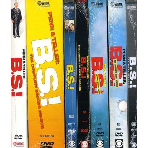Penn & Teller: B.S.! - The Complete Seven Season Pack