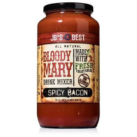 JB's Best Bloody Mary Mix - Spicy Bacon (32