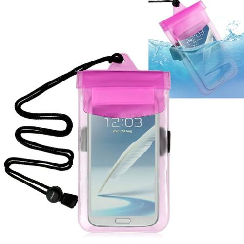 Insten Pink Waterproof Pouch Dry Bag Case For Samsung Galaxy S3 S4 S5 / iPhone 6 6S Plus 5 5S 4S / LG G2 G2X VS840 VS740