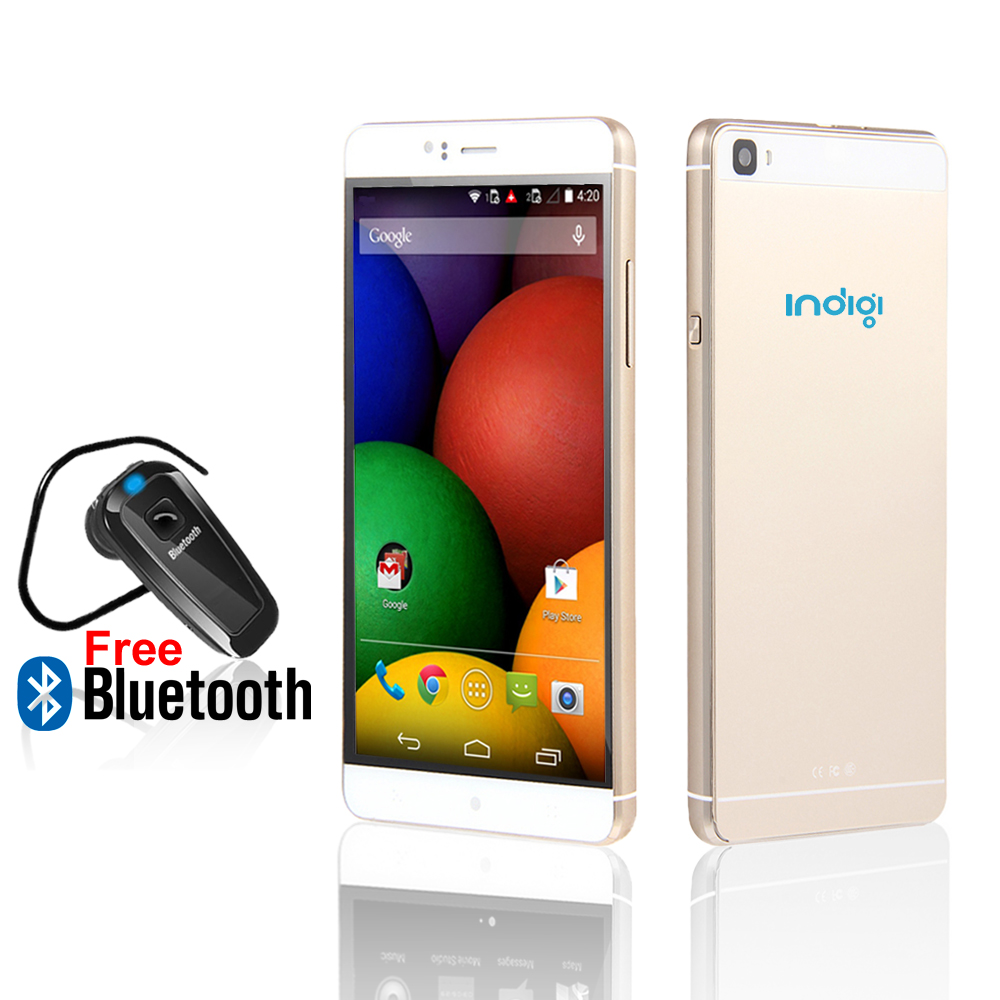 Indigi® 6.0in 3G Smartphone Android 5.1 WiFi + Google Play Store (AT&T T-Mobile Unlocked) w/ Bluetooth Included
