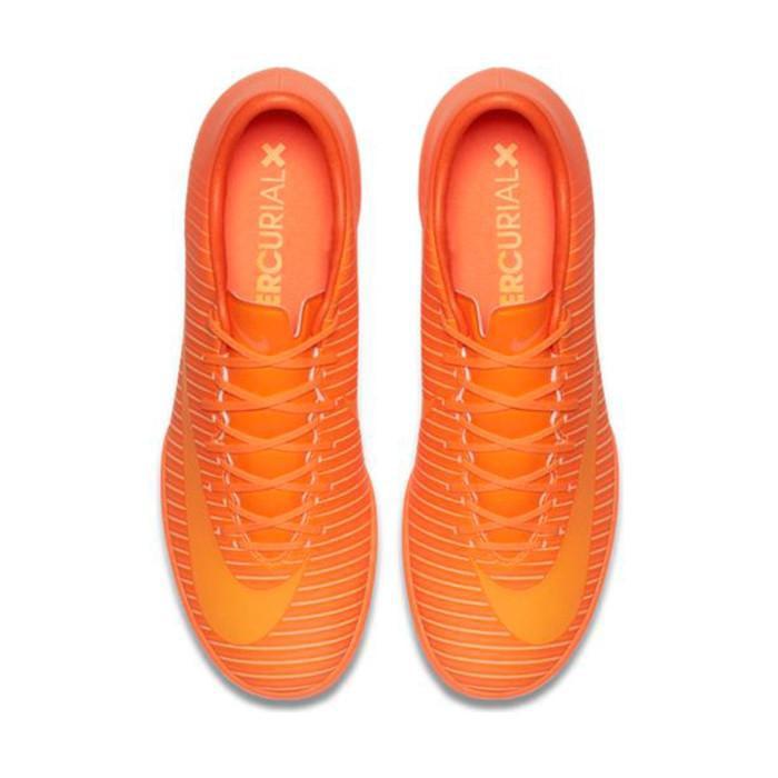 Nike Mercurial Victory VI Indoor Soccer Shoes Orange 8