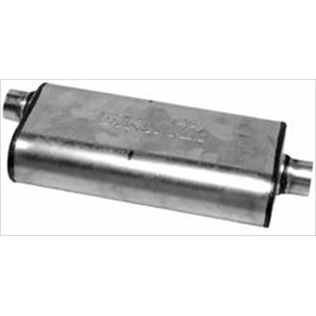 Dynomax 17233 Ultra Flow Welded Muffler Inlet Outlet 3 In